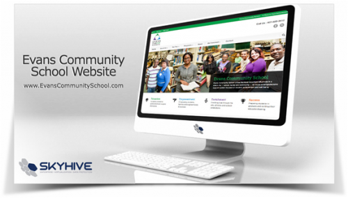 New Florida Community School with a Great Website by SKYHIVE'