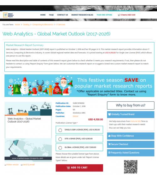 Web Analytics - Global Market Outlook (2017-2026)'