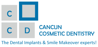 Logo for Cancun Cosmetic Dentistry'