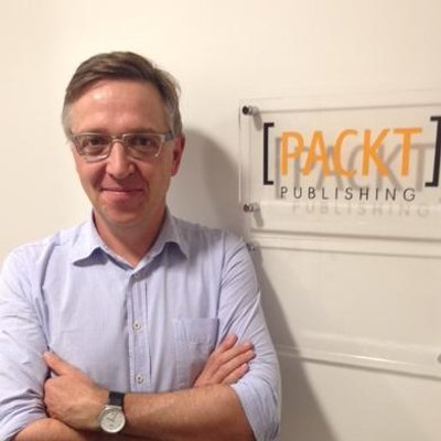 Packt Publishing Ltd CEO and Founder, Dave Maclean'