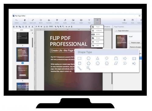 flyer brochure software'