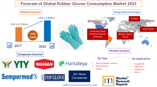 Forecast of Global Rubber Gloves Consumption Market 2023'