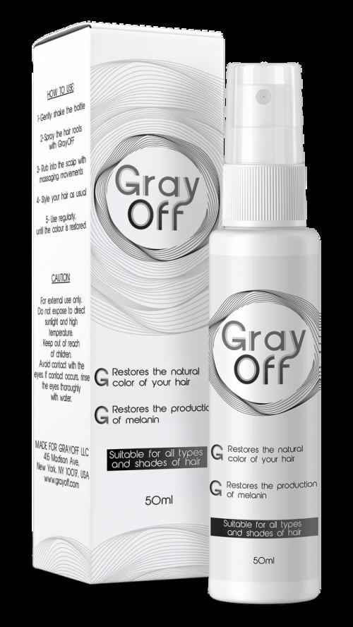 GrayOff Hair Care Spray'