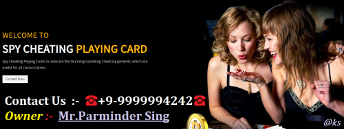 Cheating Playing Cards Device in Delhi'