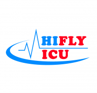Hifly ICU Air Ambulance Service Logo