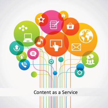 Content as a Service Market'