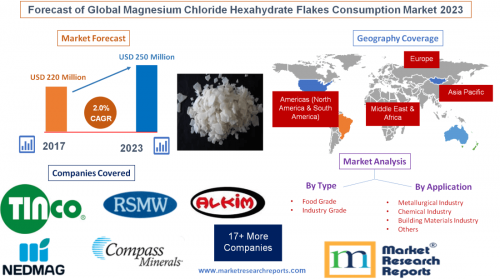 Forecast of Global Magnesium Chloride Hexahydrate Flakes'