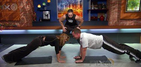 Live TV Partner Workout'