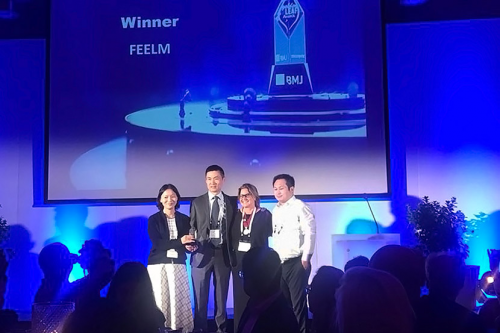 Feelm Received Golden Leaf Awards in the Most Exciting Newco'