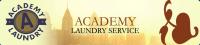 Academy Laundry Service Logo