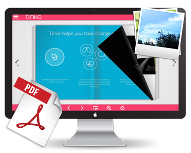 PDF brochure creator tool'