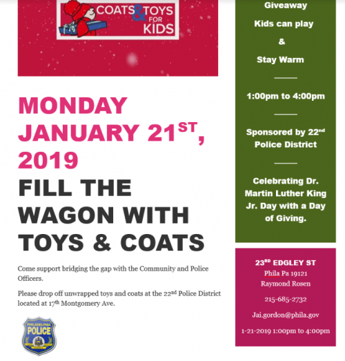 Coats and Toys for Kids Flyer'