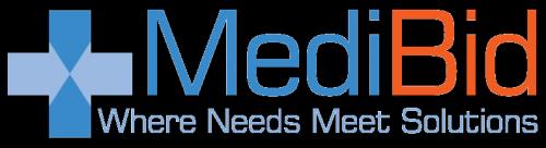 Logo for MediBid'