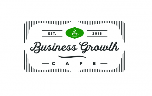 Business Growth Cafe Logo'