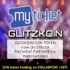 Glitzkoin GTN Token - Official Myticket.Asia Payment Partner'
