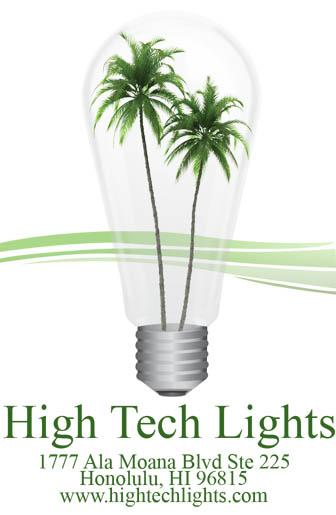 Logo for High Tech Lights'