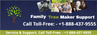 family tree maker support Logo