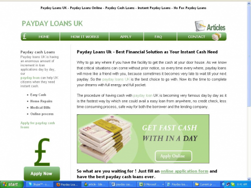 Logo for Payday Loans Uk'
