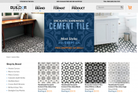 Cement Tile available on The Builder Depot website.