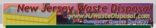 Logo for DUMPSTER JERSEY CITY NJ 908-313-9888'