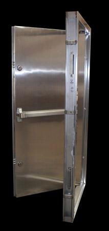 Steel Front Door'