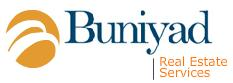 Logo for Buniyad Real Estate'