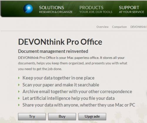 DEVONthink Pro Office Review'