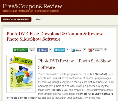 PhotoDVD Review'