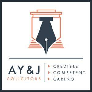 Company Logo For A Y & J Solicitors'