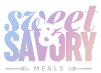 Sweet and Savory Meals Logo
