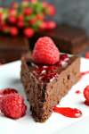 Chocolate Flourless Cake'