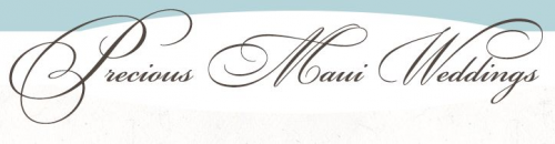Company Logo For Precious Maui Wedding Planner'
