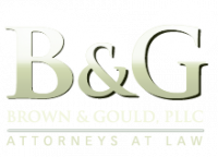 BROWN AND GOULD, PLLC Logo