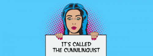 The Cunnilinguist book popart (wide)'