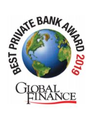 Global Finance Best Private Bank Award'