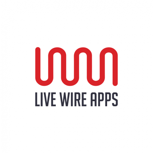 Company Logo For Live Wire Apps'