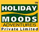 Logo for Holiday Moods Adventures Pvt Ltd'
