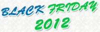 Black Friday 2012 Deals Logo