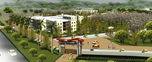 UEM Jaipur college campus'