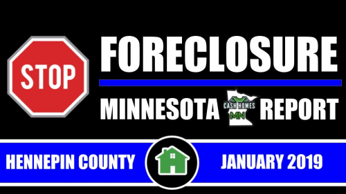 Cash Homes Minnesota launches the Stop Foreclosure MN Report'