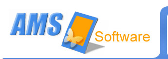 Logo for AMS Software'