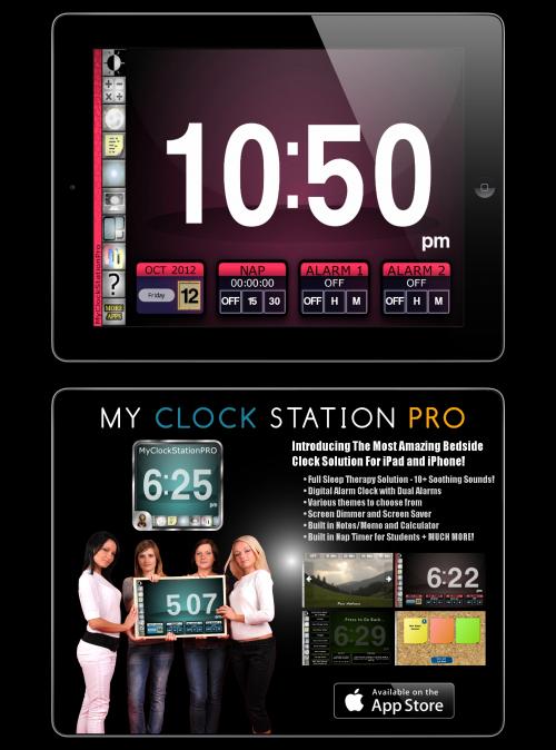 clock app'