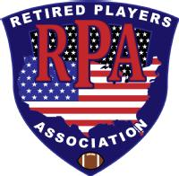 Logo for Retired Players Association'
