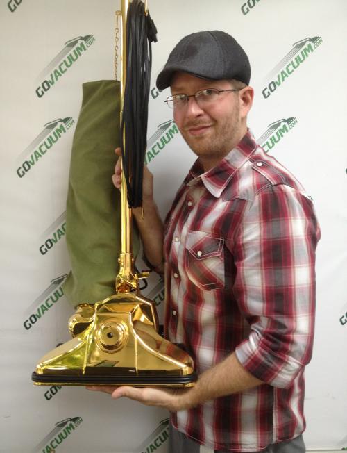 Govacuum GV62711 24k gold vacuum on Ebay starting bid $.01'