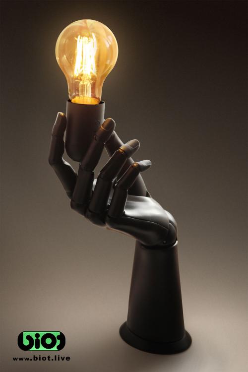 Biot Hand Lamp Holder'