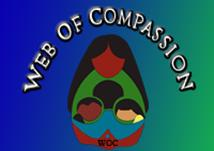 Logo for Web of Compassion'