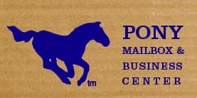 Pony Mailbox and Business Center'