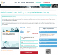 Global Cancer Tumor Profiling Industry Market Research 2019