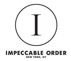 impeccable order'
