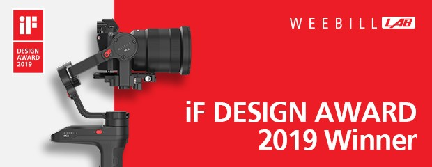 Zhiyun Weebill LAB Wins an iF Design Award 2019